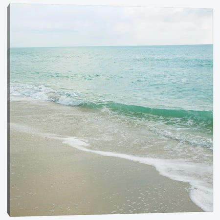Beach Scene I Canvas Print #SBT4} by Susan Bryant Canvas Artwork