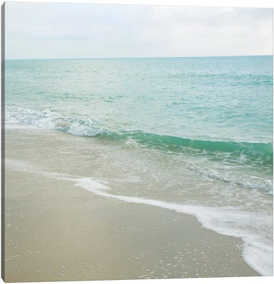 Beach Scene I Canvas Art Print
