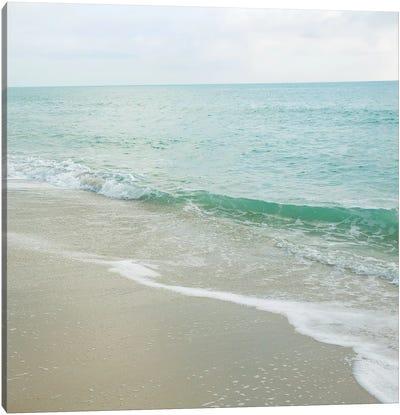 Beach Scene I Canvas Art Print