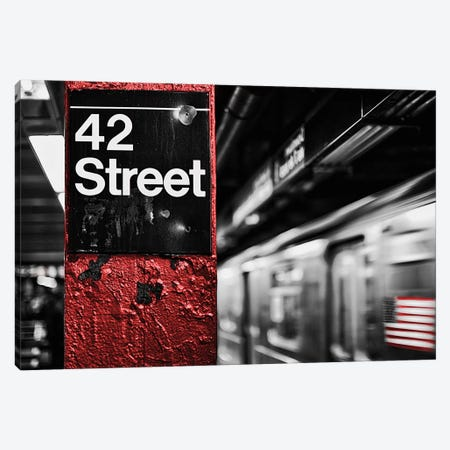 42Nd St. Canvas Print #SBT51} by Susan Bryant Art Print