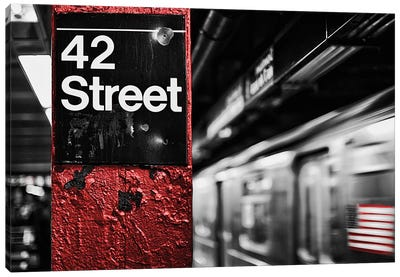 42Nd St. Canvas Art Print