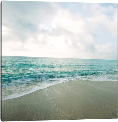 Beach Scene II Canvas Art Print
