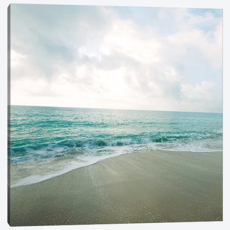 Beach Scene II Canvas Print #SBT5} by Susan Bryant Canvas Artwork