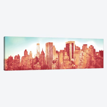NY Love Canvas Print #SBT67} by Susan Bryant Canvas Print