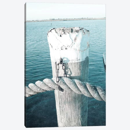 Rope On Post II Canvas Print #SBT74} by Susan Bryant Canvas Artwork