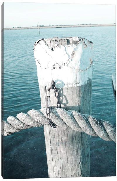 Rope On Post II Canvas Art Print