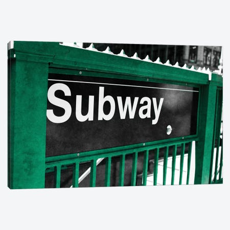 Subway Canvas Print #SBT77} by Susan Bryant Canvas Artwork