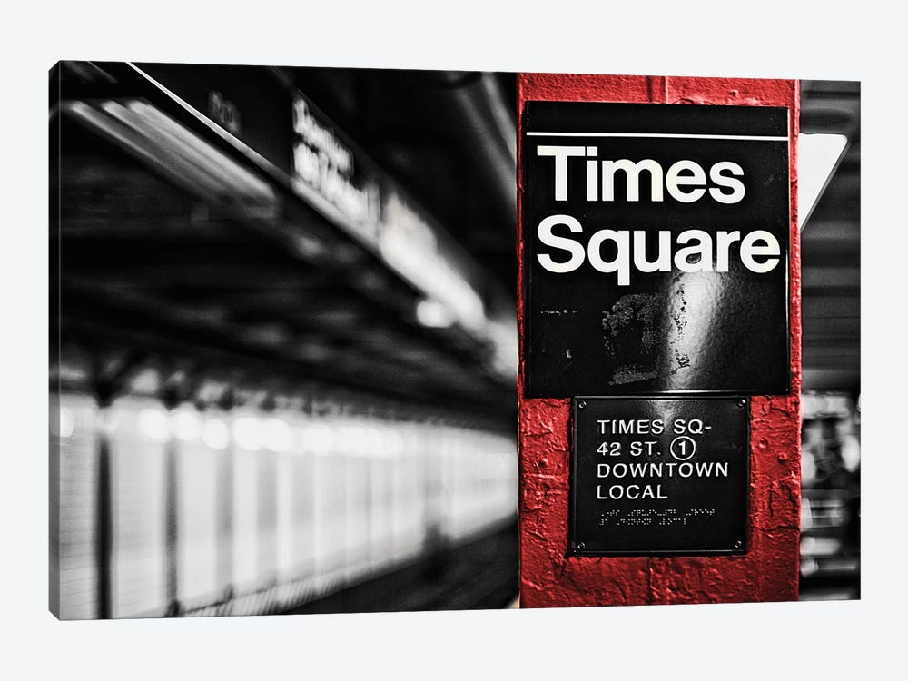 Times Square 1-piece Art Print