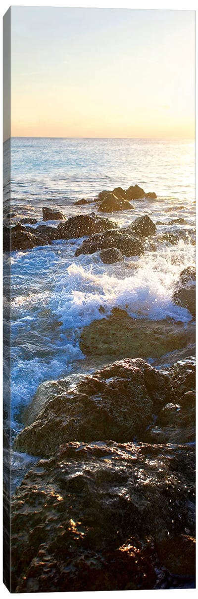 Bimini Coastline II Canvas Art Print