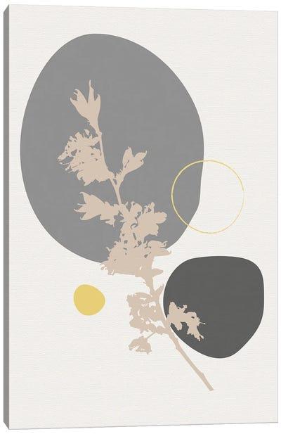 Minimal Flourish Branch Canvas Art Print