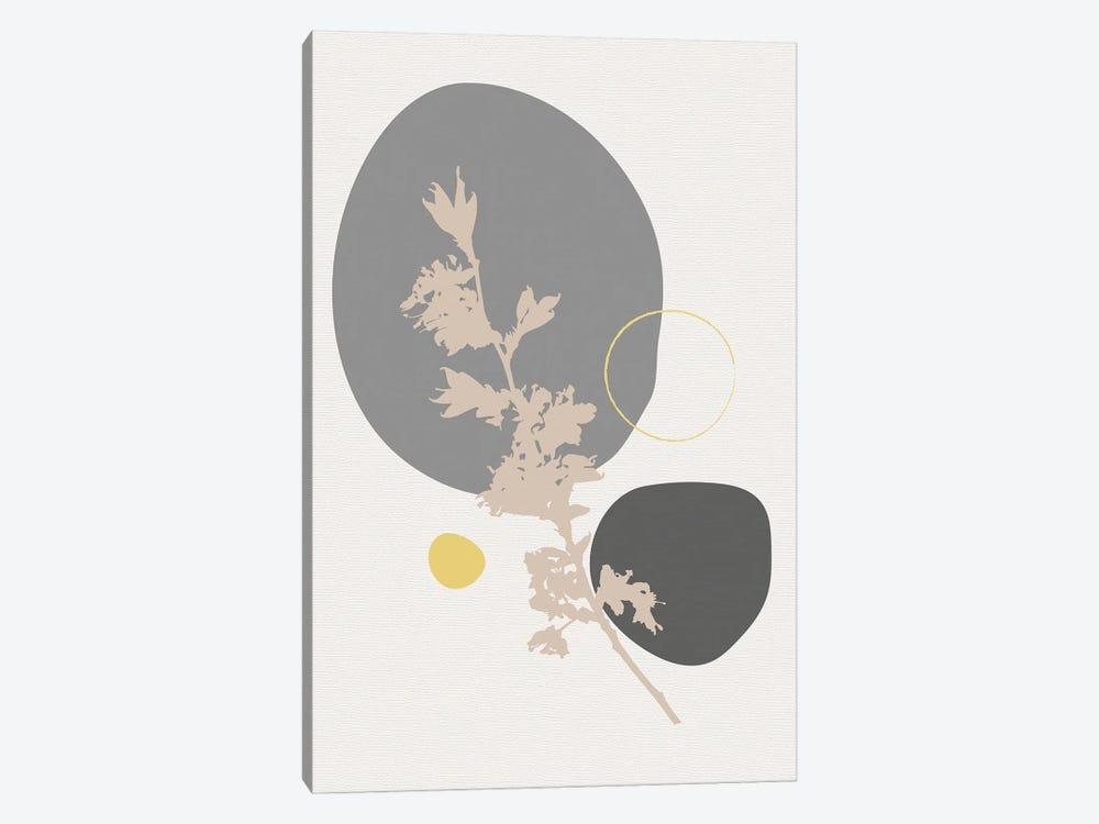 Minimal Flourish Branch by Sabrina Balbuena 1-piece Canvas Wall Art