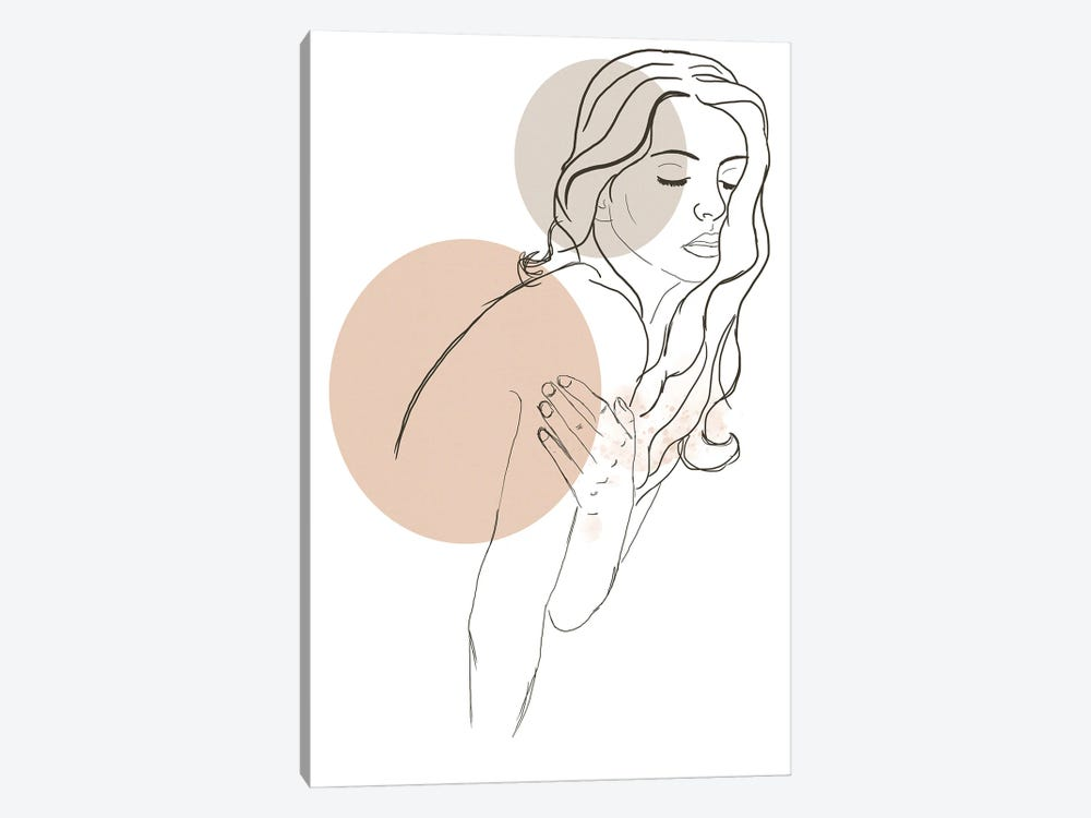 Woman Fashion Portrait by Sabrina Balbuena 1-piece Canvas Wall Art