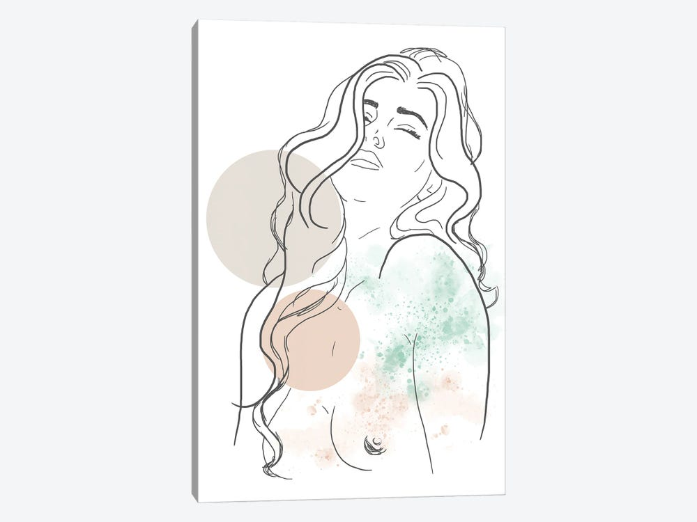 Extasis by Sabrina Balbuena 1-piece Canvas Wall Art
