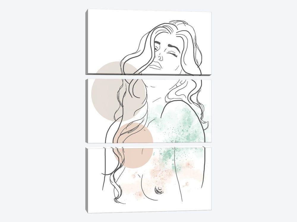 Extasis by Sabrina Balbuena 3-piece Canvas Art