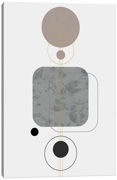 Marbled Deco V Canvas Art Print