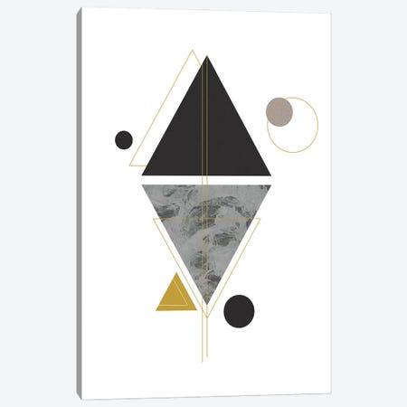 Marbled Deco VI Canvas Print #SBU19} by Sabrina Balbuena Canvas Artwork