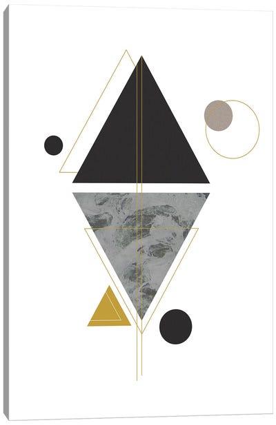 Marbled Deco VI Canvas Art Print