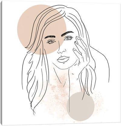 Woman Portrait Canvas Art Print