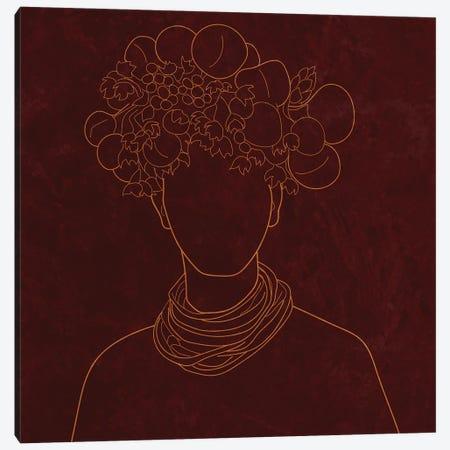 Africa Live Collection African Man Canvas Print #SBU22} by Sabrina Balbuena Art Print