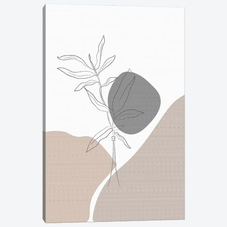 Minimal Plants Canvas Print #SBU5} by Sabrina Balbuena Canvas Print