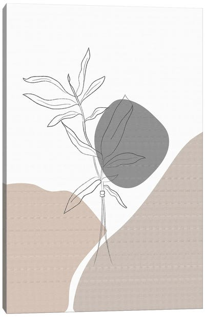 Minimal Plants Canvas Art Print