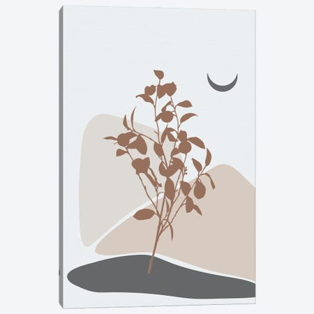 Minimal Lemon Tree Canvas Print #SBU8} by Sabrina Balbuena Canvas Wall Art
