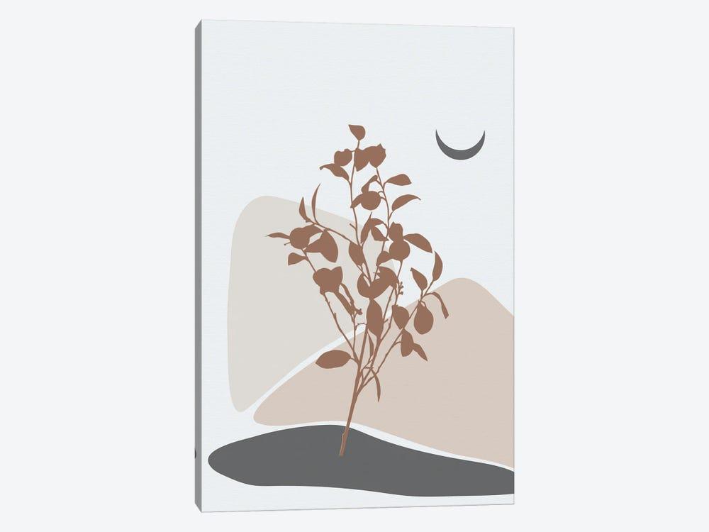 Minimal Lemon Tree by Sabrina Balbuena 1-piece Canvas Print