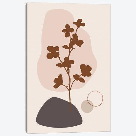 Minimal Flourish Tree Canvas Print #SBU9} by Sabrina Balbuena Canvas Wall Art