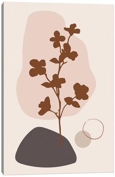 Minimal Flourish Tree Canvas Art Print