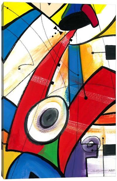 The Red Sax Canvas Art Print