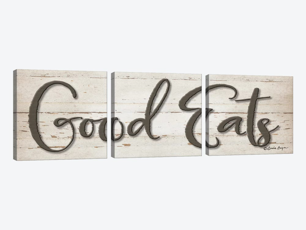 Good Eats by Susie Boyer 3-piece Canvas Art