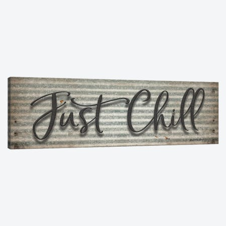 Just Chill Canvas Print #SBY14} by Susie Boyer Art Print