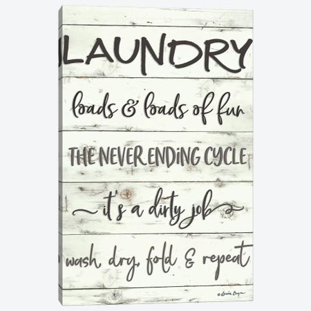 Laundry Canvas Print #SBY3} by Susie Boyer Canvas Wall Art
