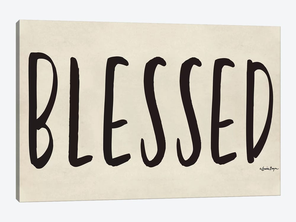 Blessed by Susie Boyer 1-piece Art Print