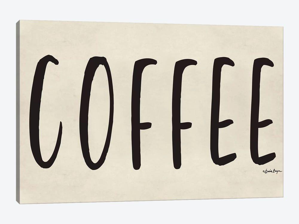 Coffee by Susie Boyer 1-piece Canvas Art