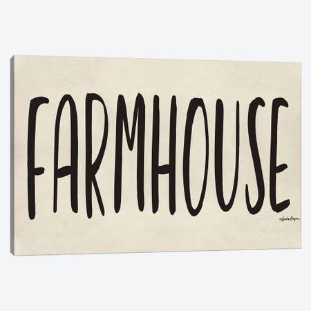 Farmhouse Canvas Print #SBY51} by Susie Boyer Canvas Artwork