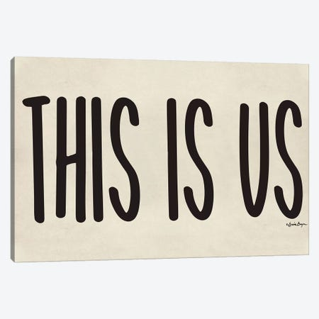 This is Us Canvas Print #SBY55} by Susie Boyer Art Print