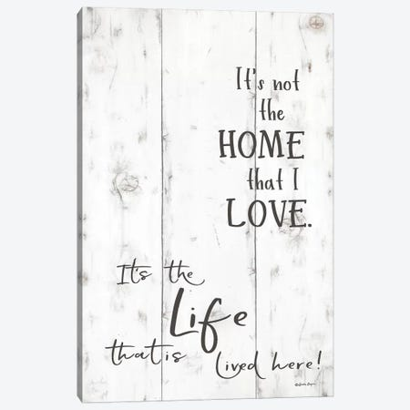 The Life that is Lived Here     3-Piece Canvas #SBY69} by Susie Boyer Canvas Art Print