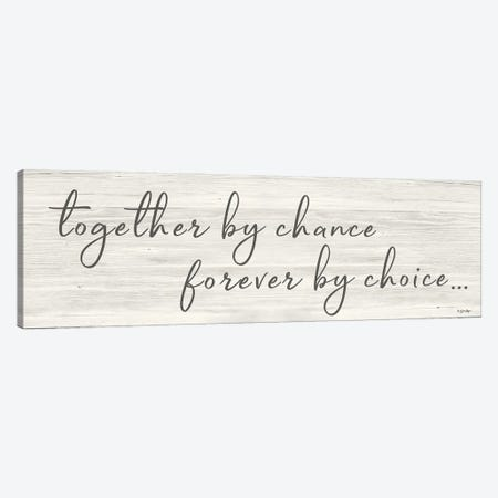 Together by Chance     Canvas Print #SBY75} by Susie Boyer Art Print