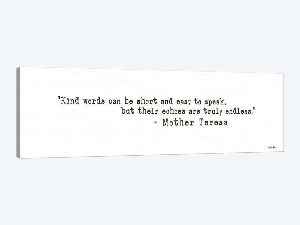 Kind Words by Susie Boyer 1-piece Canvas Wall Art