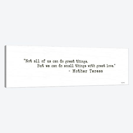 Small Things with Great Love Canvas Print #SBY79} by Susie Boyer Canvas Wall Art