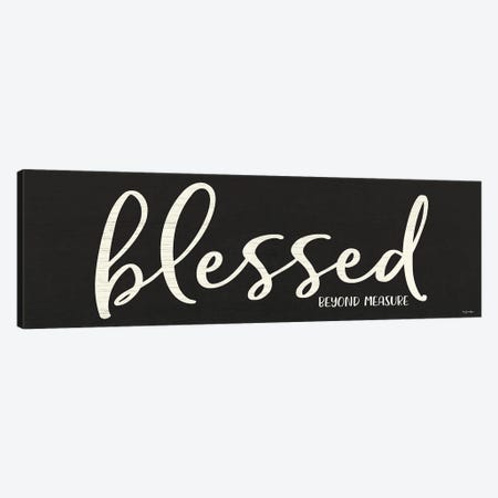 Blessed Canvas Print #SBY80} by Susie Boyer Art Print