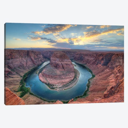 Grand Canyon Sunset Canvas Print #SCB25} by Scott Bennion Canvas Art
