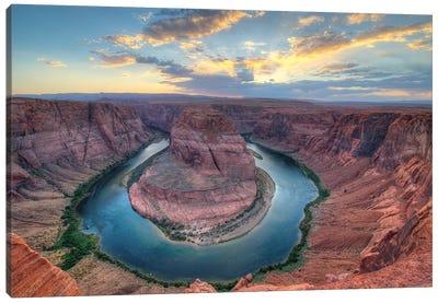 Grand Canyon Sunset Canvas Art Print