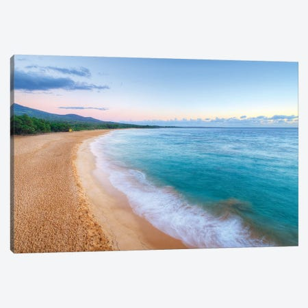 Big Beach - Maui Canvas Print #SCB5} by Scott Bennion Canvas Art