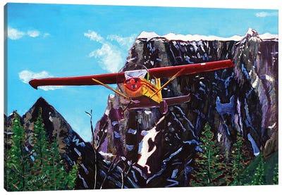 Castle Peak Fly By Canvas Art Print