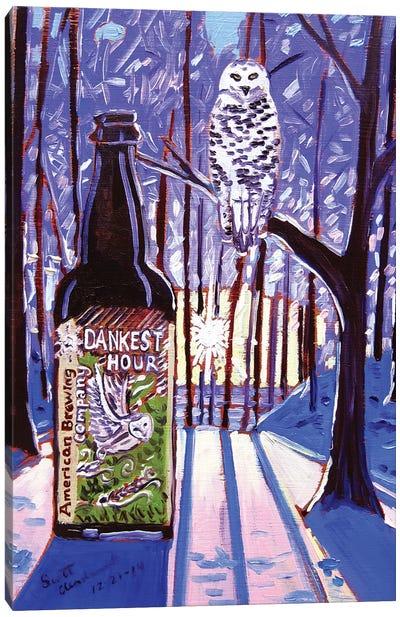 Dankest Hour Canvas Art Print