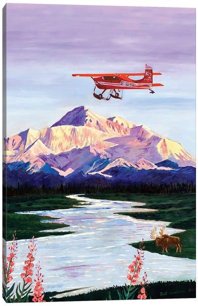 Denali Sunrise Canvas Art Print