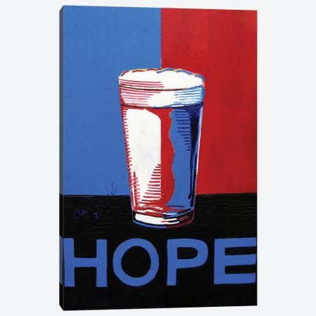 Hope Pint Canvas Print #SCD24} by Scott Clendaniel Canvas Wall Art