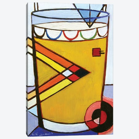 Kandinsky Pint Canvas Print #SCD26} by Scott Clendaniel Canvas Art